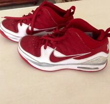 Nike Mens Basketball Blue Chip II Red/White Size 10 -375752-162 Vintage 2009