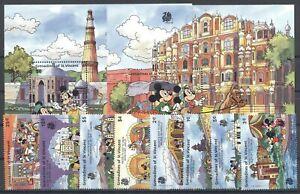 Walt Disney, India - St.Vincent Grenadinen - ** MNH 1989