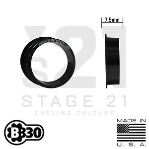BB30/Pressfit30 - 30mm Spindle Spacers - Choose Size! BB30 PF30 SRAM Cannondale