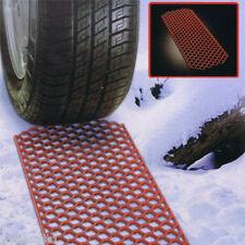Par de invierno coche Rueda Grabber tracción Tapetes para salir de la Nieve Barro terreno Blando