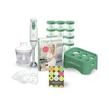 Sage Spoonfuls On-The-Go Package - Baby Food Making And Storage Kit - Award Win