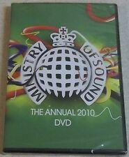 MINISTRY OF SOUND The Annual 2010 DVD Region 2 SOUTH AFRICA Cat# DVDJUST007