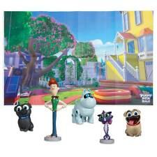 New Disney store Puppy dog Pals Figurine Play set Cake Topper Pvc