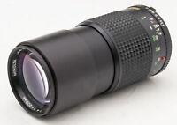 Minolta MD Tele Rokkor 200mm 200 mm 1:4 4  - analog manuell