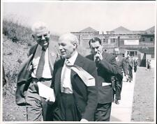 Dunlop Research Centre 1950 opening ceremony.  Sir Lawrence Bragg +  co.6A