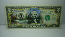 2003 COLORIZED $2 TWO NOTE YOSEMITE NATIONAL PARK