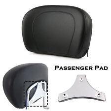 Detachable Passenger Pad For Harley King Backrest Sissy Bar  97-18
