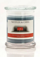 "Flicking Candle Company Netflix & and Chill 100% Soy Candle 4"" x 3"""
