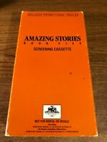 Amazing Stories Book 5 Screening Cassette VHS VCR Video Tape Movie Used RARE