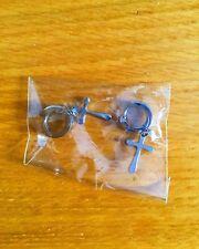 Cross Earrings / Boucles d'Oreilles Croix