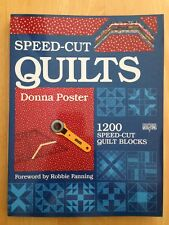 Speed-Cut Quilts by Donna Poster (1989, Paperback)