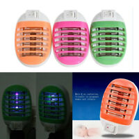 LED Electric Indoor Insect Mosquito Fly Bug Pest Insect Zapper Killer &Trap Lamp
