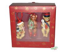 Villeroy & Boch 1483316667 Nostalgic Ornaments Teddy Christmas tree deko 3tlg.