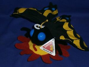 Vintage Butterfly Plush Toy by Dakin 6x11 inches Circa 1990s