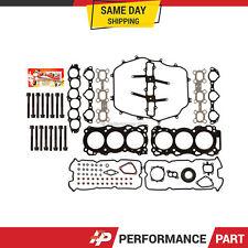 Head Gasket Bolts Set for 03-04 Nissan 350Z Infiniti G35 FX35 3.5 DOHC VQ35DE