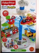 Mattel DGN26 Fisher Price - Little People Flughafen - Spielset - ab 18 Monaten