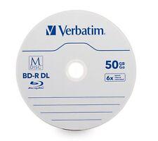 Verbatim Blu-ray Recordable Media - Bd-r Dl - 6x - 50 Gb - 25 Pack Spindle -