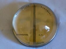 Vintage Washington Monument Glass Dome Paperweight