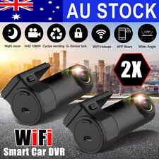 2in1 170° 720p Car Camera Recorder Dual Lens Hidden DVR Video Dash Night Vision