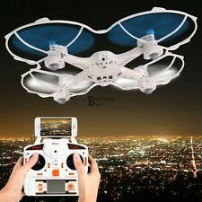 White Original MJX X300C 2.4G 6-Axis Gyro wifi FPV Real-time RC Quad Helicopter