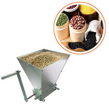Grain Processor Grain Crusher Stainless Rollers Homebrew Malt Mill Grain Mill