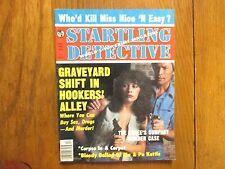 "Dec. 1980 ""Startling Detective"" Magazine(JOHN  WESLEY RALPH/WILLIAM  F. ACKERMAN"