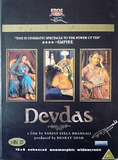 DEVDAS- ORIGINAL EROS BOLLYWOOD 2 DVD COLLECTERS SET - Shah Rukh Khan,