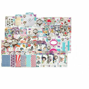 Crafters Companion Verity Rose Collection - Dies - Stamps - Paper - REDUCED