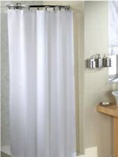 Croydex Saracen 1800x1800mm White Textile Shower Curtain