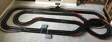 Scalextric Digital Very Large Layout with Lap Counter & 4 Cars*