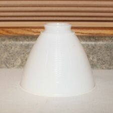 "Corning 6"" Milk Glass Torchiere Lamp  Shade"