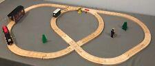 Thomas & Friends Wooden Train AROUND THE BARREL LOADER SET w/ Diesel & Toby