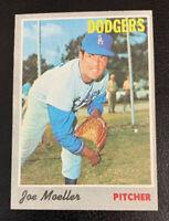 1970 Joe Moeller # 97 Los Angels Dodgers LA Topps Baseball Card