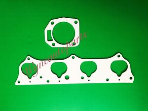 Fit Honda Acura RSX Si K20A K20A2 Thermal Intake & PRB Throttle Body Gasket Set