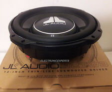 "JL AUDIO 12TW3-D4 Dual 4 Ohm 12"" SHALLOW SLIM MOUNT SUBWOOFER NEW TW3 W3V3 300MM"