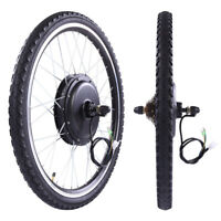 "26"" Rear Wheel 48V 1000W Electric Powered Bicycle Motor Cycling Conversion Kit"