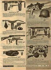 1970 ADVERTISEMENT Sonic Ray Gun Bonanza Rifle Pistol Johnny Eagle Ramrod Lawman