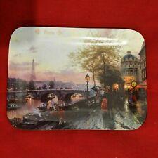 The Bradford Exchange plate #1185A Paris By Thomas Kinkade Plate 1994