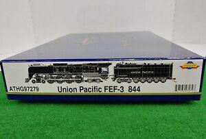 Athearn Genesis ATHG97279 4-8-4 Union Pacific FEF-3 844 DCC/Sound HO Scale RARE!