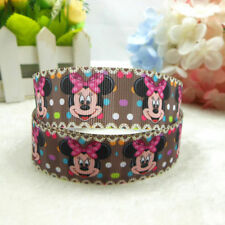 5yds 7/8'' (22mm) beautiful design printed grosgrain ribbon Hair bow diy Y1085