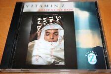 Vitamin Z Sharp Stone Rain Cd Pop Rock Synth Pop Human League Soft Cell Duran Mr