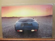 Vintage Vector W2 Black 1985 poster car garage man cave 11987