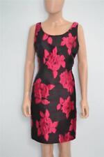 Lanvin Black w/ Flowers/Exposed Back Zipper Sleeveless Dress 40/4