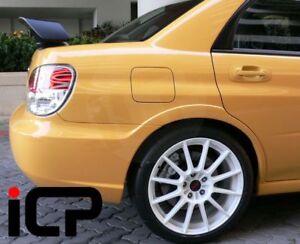 Genuine Widetrack Rear Wide Arches Fits: Subaru Impreza 00-07 Pure White 51E