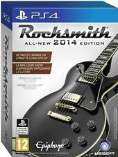 Rocksmith 2014+Real Tone Cable PS4 PlayStation 4 Video Game Mint Cond UK Release