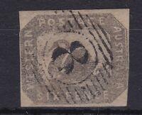 """WA150) Western Australia 1859 6d Grey Black Swan SG 19  """"Hillman"""" imperf"""