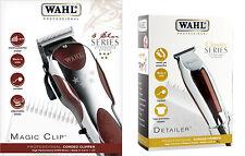 WAHL MAGIC CLIP 5 STAR NETZ - HAARSCHNEIDEMASCHINE + WAHL DETAILER HAARTRIMMER