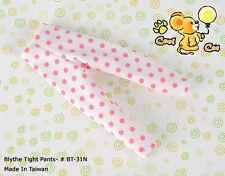 ☆╮Cool Cat╭☆【PT-05N】Pullip Capri Leggings/ Pants/ Trousers # Dot Pink
