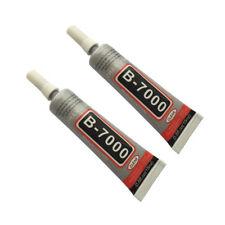 B-7000 Industrial Adhesive Glue Jewelry RC Tires Nail Phone Frame 0.5oz-15ml 2pc