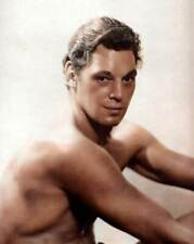 Johnny Weissmuller 8x10 RARE COLOR Photo 600